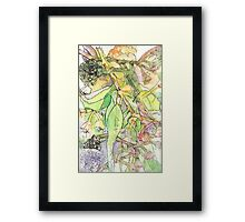 Fairy with Trumpet  Framed Print