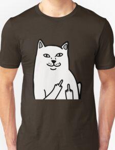Middle Finger Cat T-Shirt