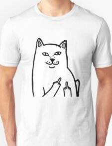 Middle Finger Cat T-Shirt
