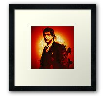 Blood Red #1 Framed Print