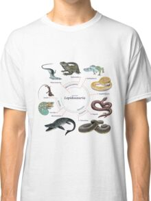 Lepidosauria: The Cladogram Classic T-Shirt