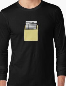 Check it Out Long Sleeve T-Shirt