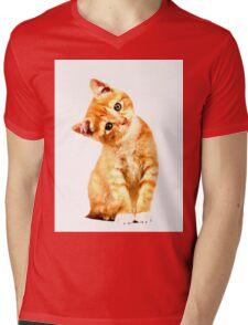 Kitty Galore Mens V-Neck T-Shirt