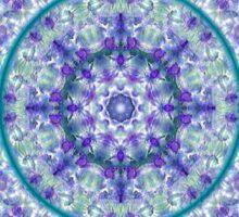 Compass Point Kaleidoscope 1 Sticker