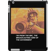 "Louis Theroux ""IM FROM THE BBC"" iPad Case/Skin"