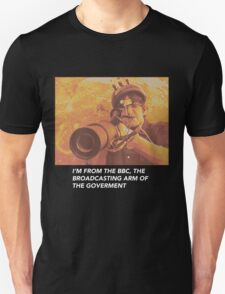 "Louis Theroux ""IM FROM THE BBC"" Unisex T-Shirt"