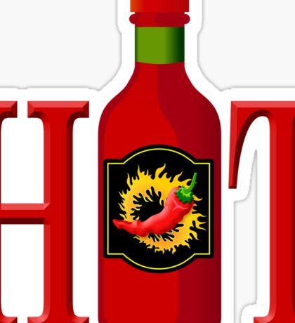 Hot sauce bottle Sticker