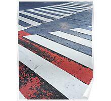 Japan - Zebra Crossing in Tokyo Poster