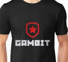 Gambit logo (with text) Unisex T-Shirt
