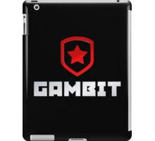 Gambit logo (with text) iPad Case/Skin
