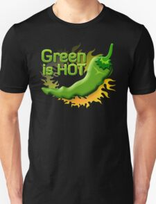 Green is HOT Unisex T-Shirt