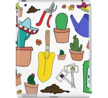The Cactus Lover Package iPad Case/Skin