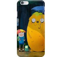 adventure time totoro iPhone Case/Skin