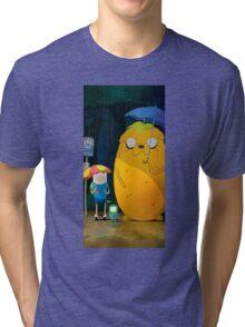 adventure time totoro Tri-blend T-Shirt