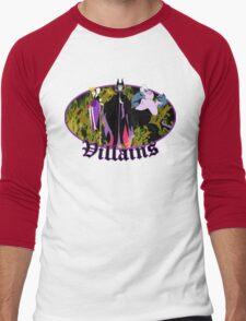 Villains Men's Baseball ¾ T-Shirt