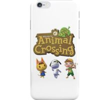 ACNL fam iPhone Case/Skin