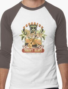 sunset blues Men's Baseball ¾ T-Shirt