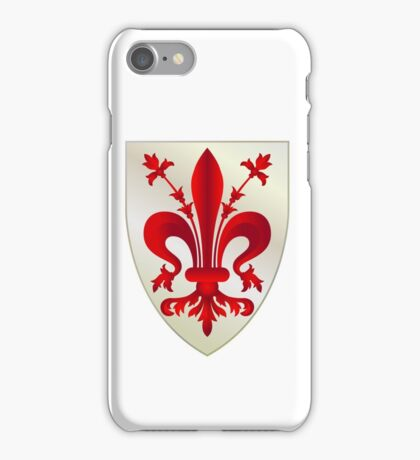 Coat of Arms of Florence iPhone Case/Skin