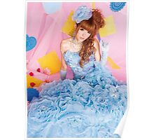 Masuwa Blue Dress Poster