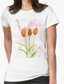 Tulips #8 – Daily painting #741 Womens Fitted T-Shirt