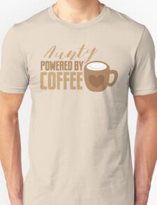 Aunty powered by COFFEE Unisex T-Shirt