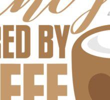 Aunty powered by COFFEE Sticker