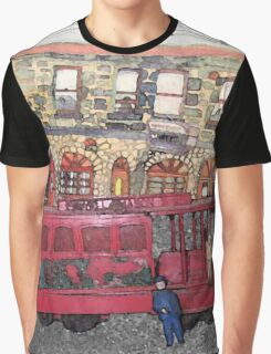 San Francisco Trolley Car And The Western Hotel Graphic T-Shirt