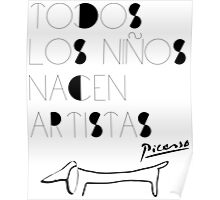 Pequeños Artistas Poster