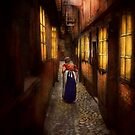 City - Germany - Alley - A long hard life 1904 by Mike  Savad