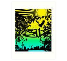 311 BAND CITY Art Print
