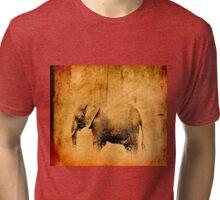 Massai Mara Park Africa - Elephant Kingdom Tri-blend T-Shirt