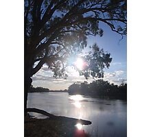 Sunset on the Murray Photographic Print
