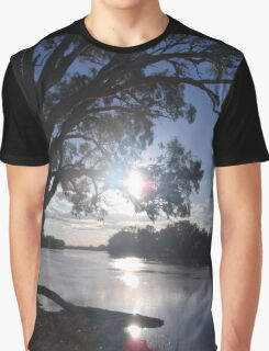 Sunset on the Murray Graphic T-Shirt