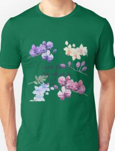 Paint Flowers Unisex T-Shirt