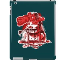 wild dog cartoon style  iPad Case/Skin