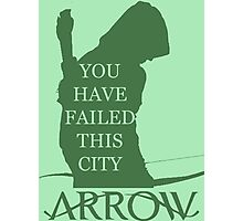 Arrow Hero 2 Photographic Print
