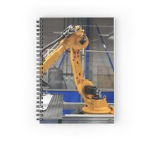 Industrial Robot in manufacturing Spiral Notebook