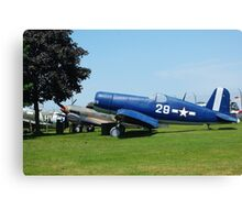WW II plane Canvas Print