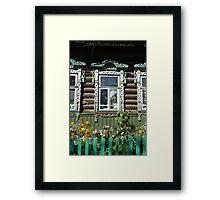 window farmhouse  Framed Print
