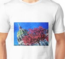 Pennsylvania State Capitol Dome In Bloom Unisex T-Shirt