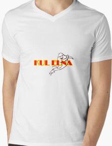 Kul Elna Logo Mens V-Neck T-Shirt