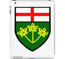 Ontario Shield of Arms iPad Case/Skin
