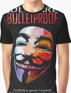 Ideas are BulletProof Graphic T-Shirt