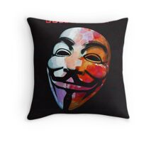 Ideas are BulletProof Throw Pillow