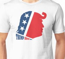 Donald Trump and Republican Elephant Logo Unisex T-Shirt