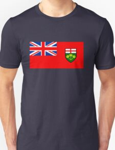 Flag of Ontario, Canada. T-Shirt