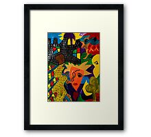 Castle Abstract 1999 Framed Print