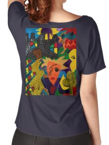 Castle Abstract 1999 Women's Relaxed Fit T-Shirt