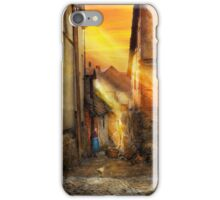 City - Germany - Alley - The farmers wife 1904 iPhone Case/Skin