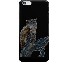 owl colored iPhone Case/Skin